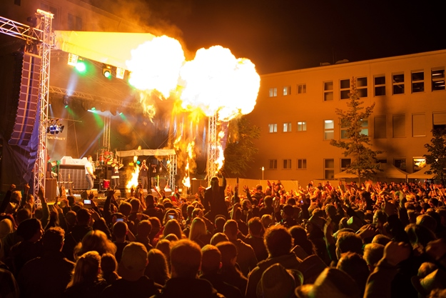 Campus Open Air 2015 in Wismar