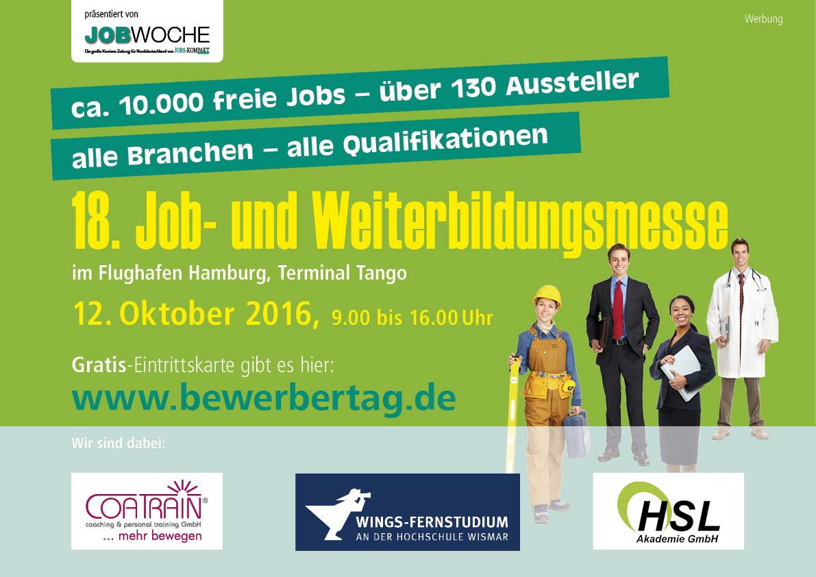 WINGS-Fernstudium auf Jobmesse in Hamburg