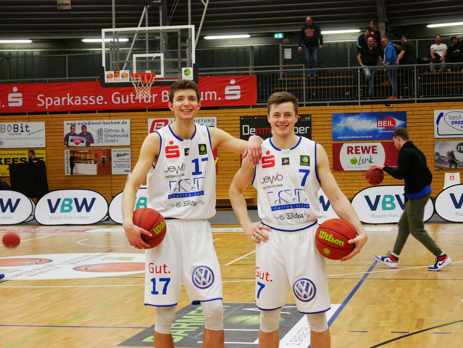 Interview Lars Kamp& Marius Behr Basketball