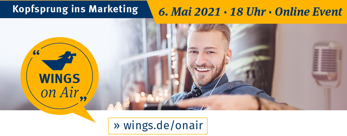 Kopfsprung ins Marketing | WINGS on Air